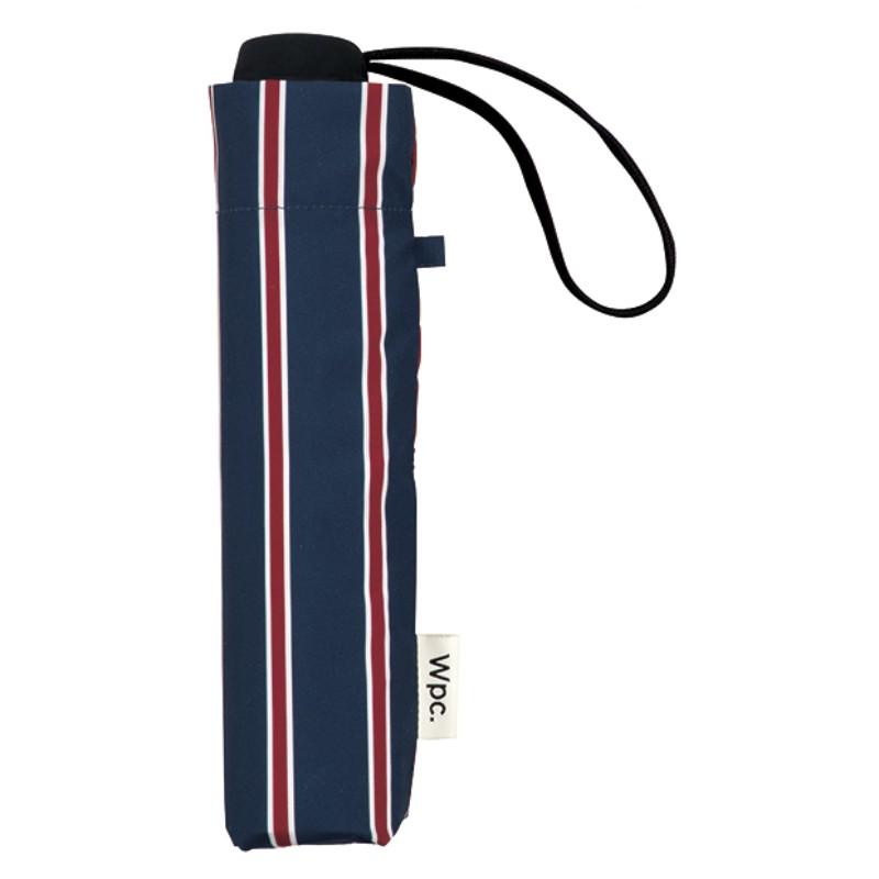 w.p.c ベーシックフォルディングアンブレラ スクールストライプ w.p.c basic folding umbrella school stripe 沖縄