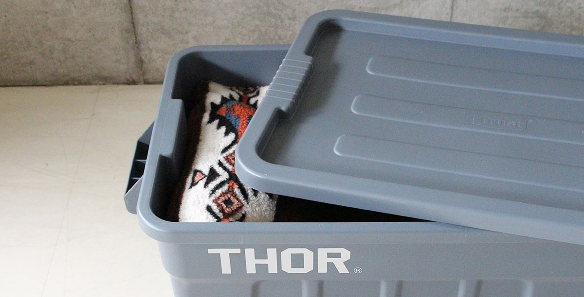 TRUST トラスト Thor Large Totes With Lid 沖縄