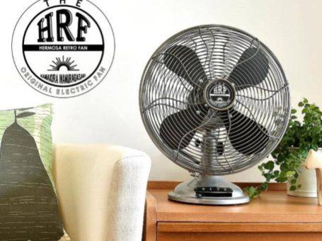 HERMOSA RETRO TABLEFAN 【SALE】懐かしさと新鮮さを合わせ持つ扇風機「HERMOSA RETRO TABLEFAN」 沖縄