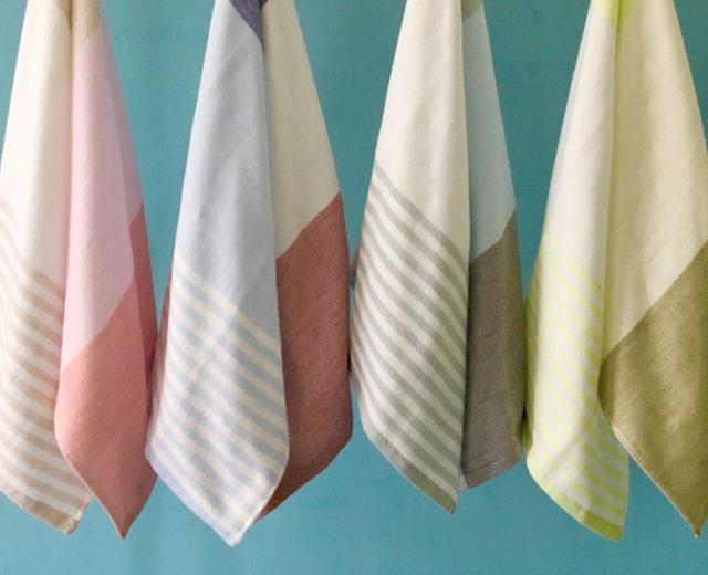 今治タオル Imabari towel トリコロールシャンブレー Tricolor chambray フェイスタオル Face towel ミニタオル Mini towel 沖縄